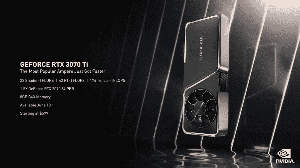 The new NVIDIA GeForce RTX 3070 Ti could be your next affordable flagship GPU at $599