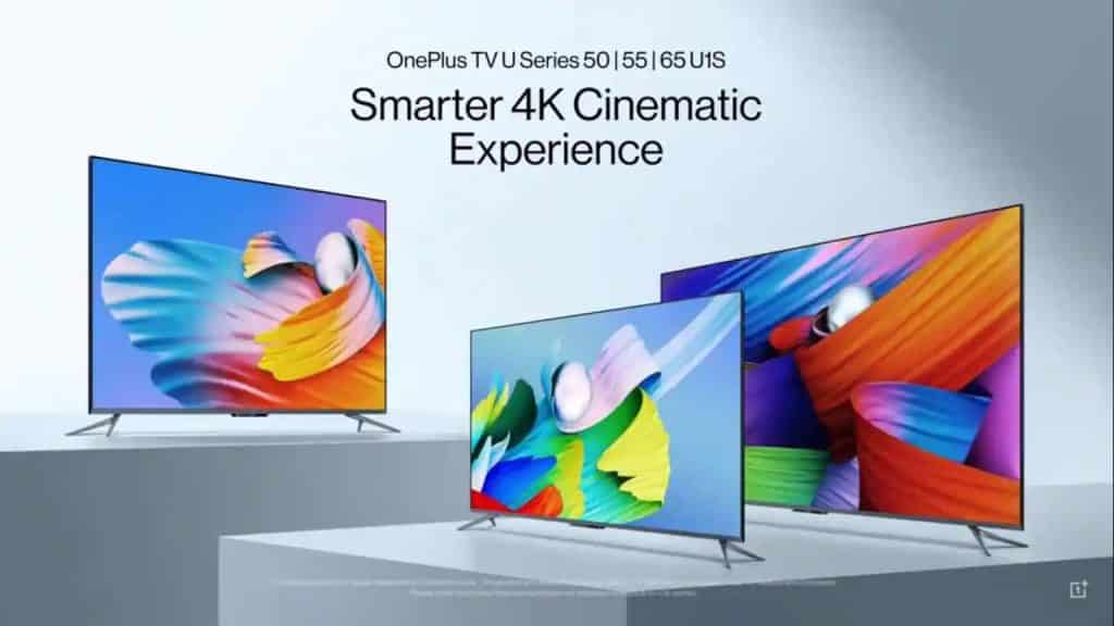 OnePlus TV U1S TV launched, sale starts from tonight_TechnoSports.co.in