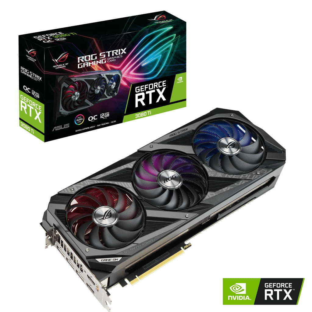 ASUS Announces GeForce RTX 3080 Ti and GeForce RTX 3070 Ti Series Graphics Cards