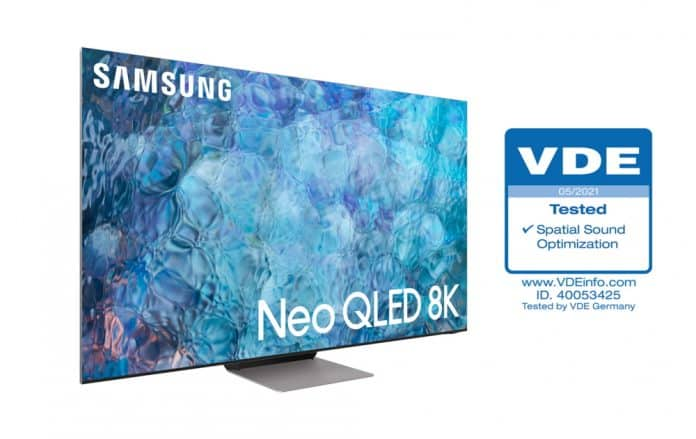 Samsung Neo QLED - industries first 'Spatial Sound Optimization' certified TV - 2_TechnoSports.co.in