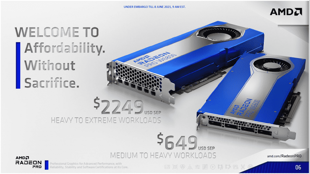 AMD's new Radeon PRO W6000 Series Workstation Graphics is cost-effective yet powerful