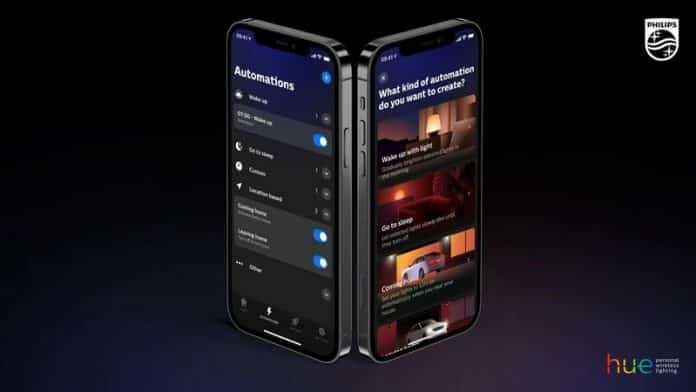 Philips bring in the new update for their smart lighting system Hue app