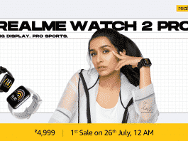 Realme launches Watch 2 and Watch 2 Pro